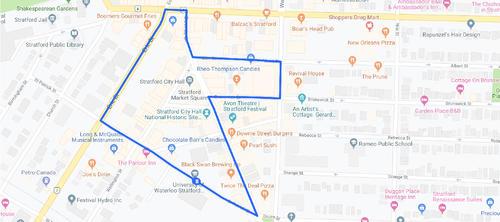 18 Minute Walking map