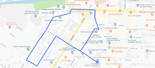 30 Minute Walking route