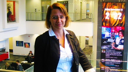 Dr. Christine McWebb, Director of Academic Programs at UWaterloo Stratford Campus.