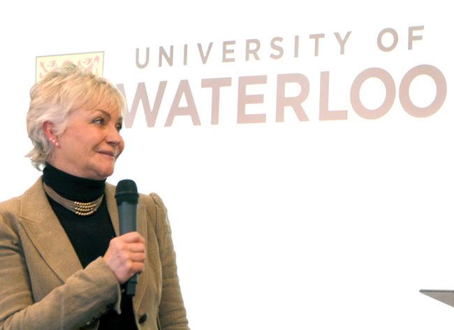 University of Waterloo Stratford campus executive director Ginny Dybenko.