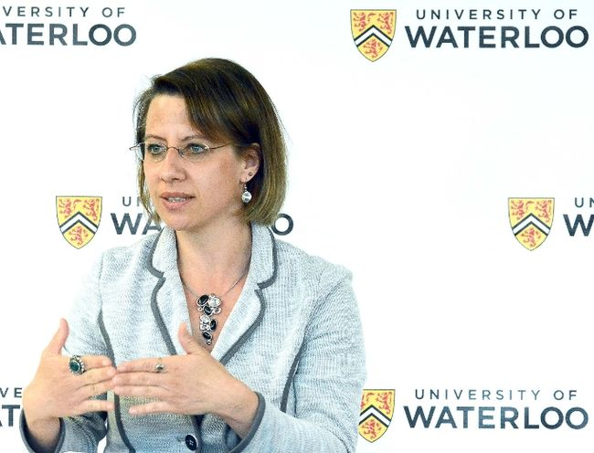 Christine McWebb, director of academic programs at the University of Waterloo Stratford campus.