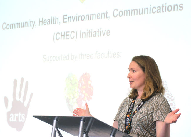 Tanya Markvart, director of research and programming with the CHEC initiative.