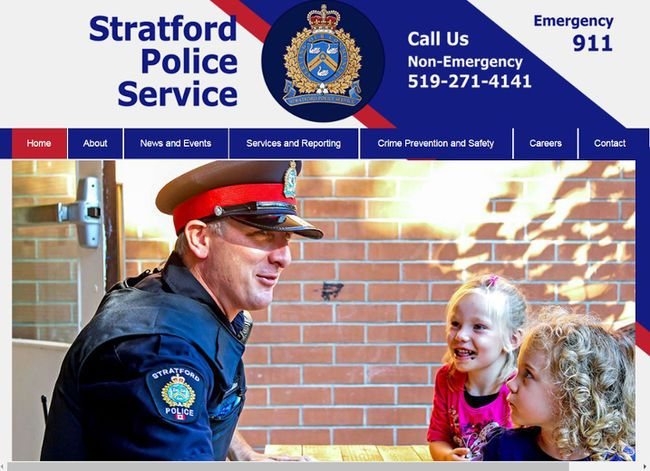 The Stratford Police Service launched a new website this week.