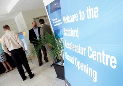 Stratford Accelerator Centre's Wellington Street office