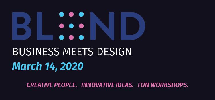BLND logo, Business Meets Design