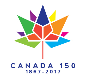 Canada 150 contest winning logo
