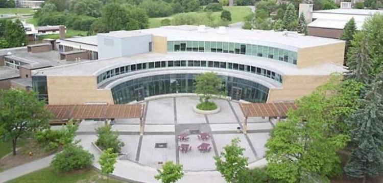 Ariel view of the Student Life Centre