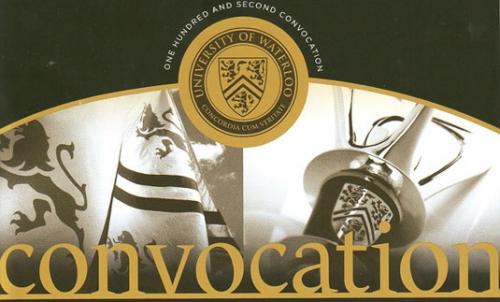 Convocation program