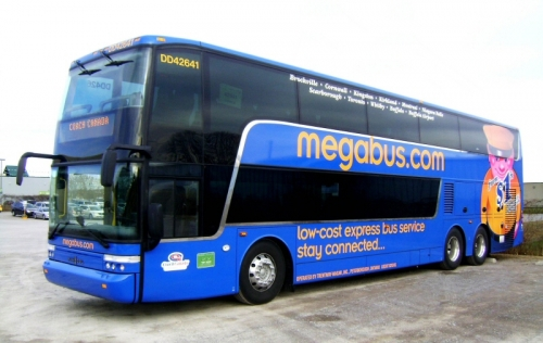 Picture of a MegaBus