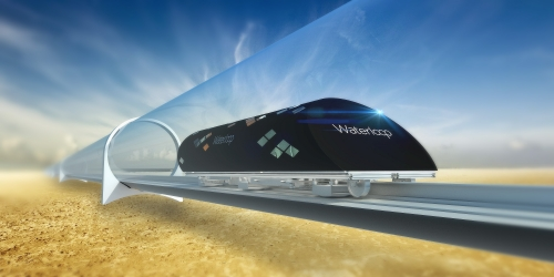 Hyperloop design from UWaterloo