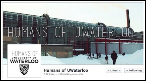 Humans of UWaterloo Facebook page