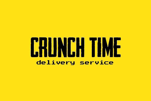 """Crunch Time Delivery Service"""