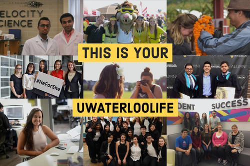 """This is your UWaterloolife""."
