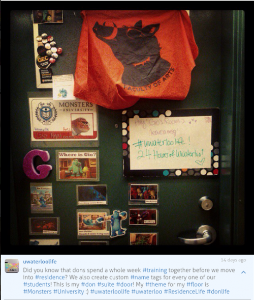 Giovanna's don door, 24 Hours of Waterloo contest winning photo