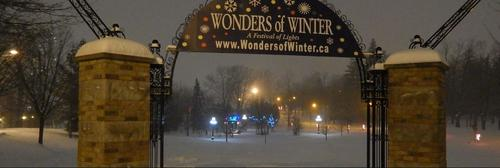 Wonders of Winter entrance