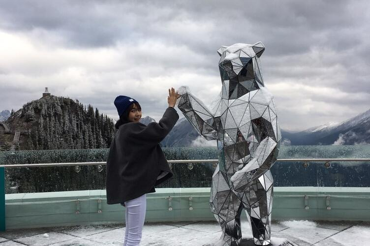 Si Yon visited the Canadian Rockies.