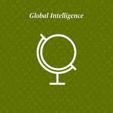global intelligence written above a globe
