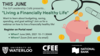 """""""This June the SLP Leadership Cafe presents Living a Financially Healthy Life."""""""