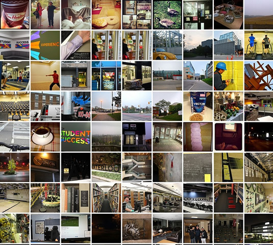 Thumbnails of 72 photos from the 24 hour photo event.