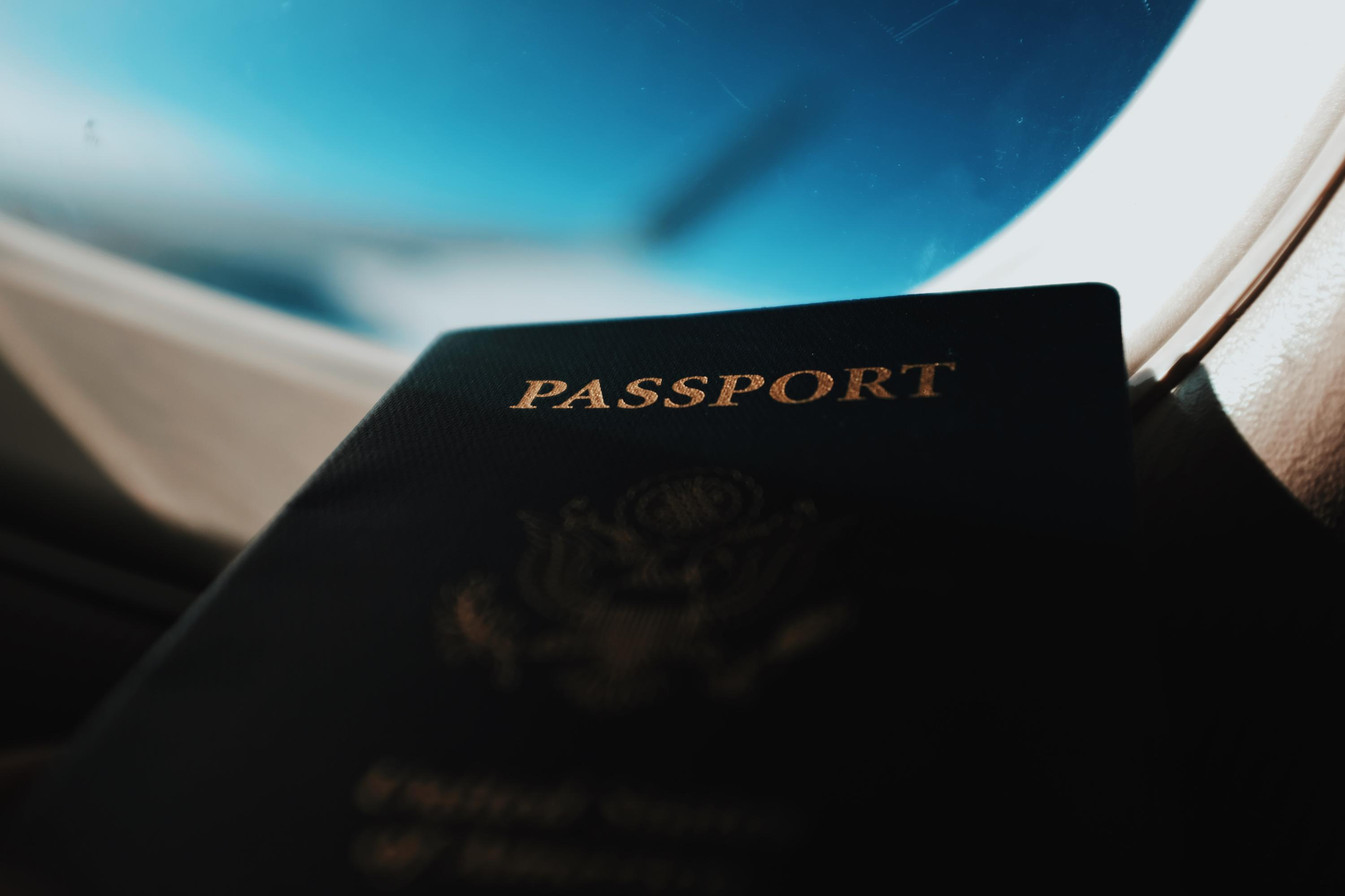 Passport image. Photo by Blake Guidry on Unsplash.