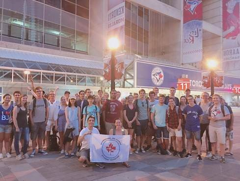 ICSN at a Blue Jays game