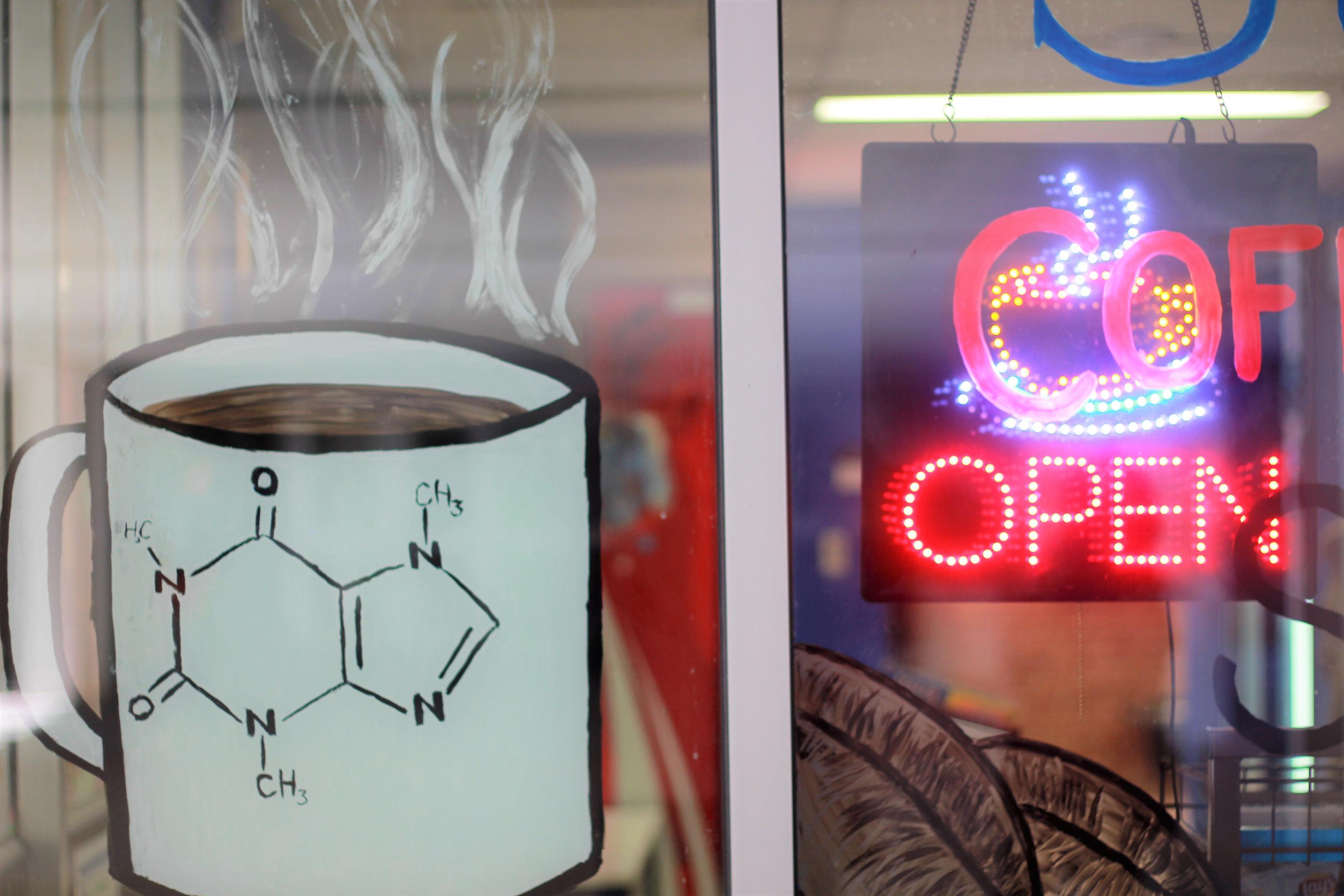 Science CnD Window art