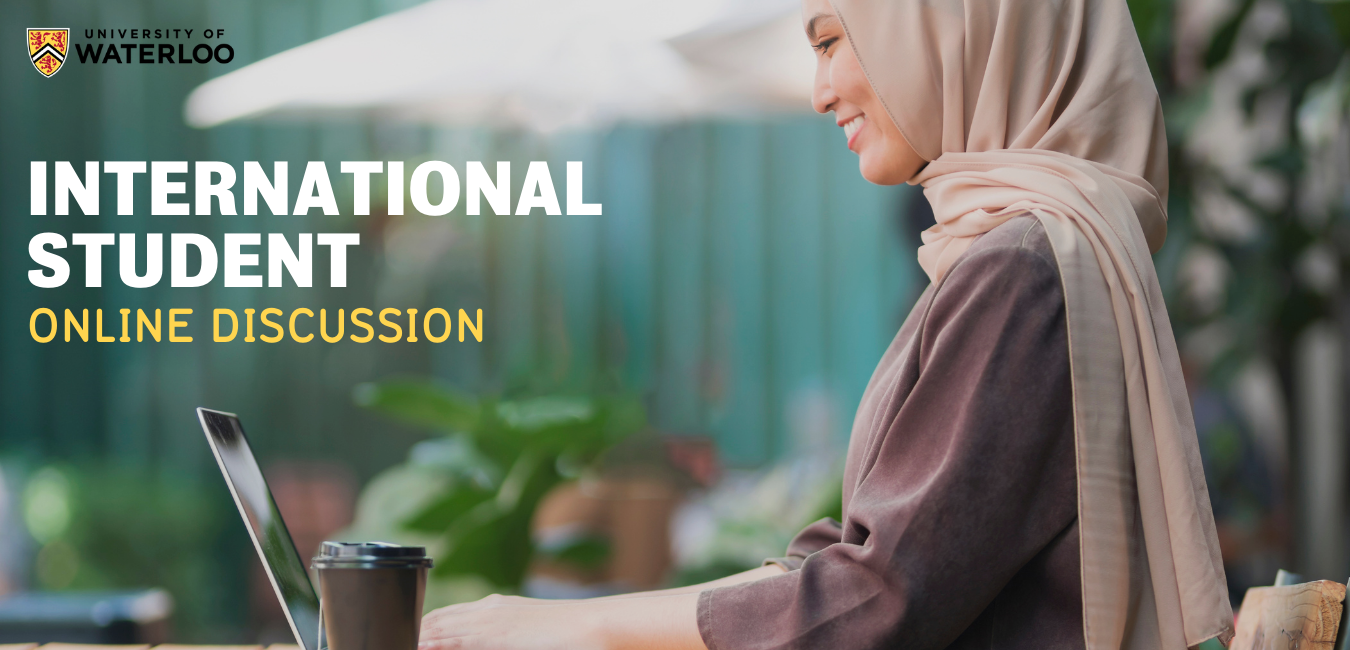 International Student Online Discussion.