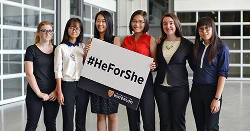 2015 HeForShe Scholarship Winners
