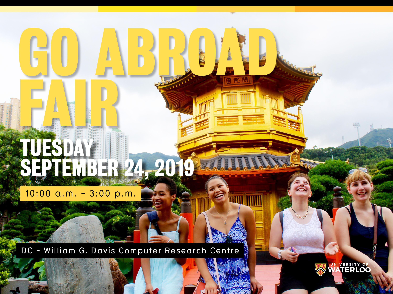 Go Abroad Fair 2019.