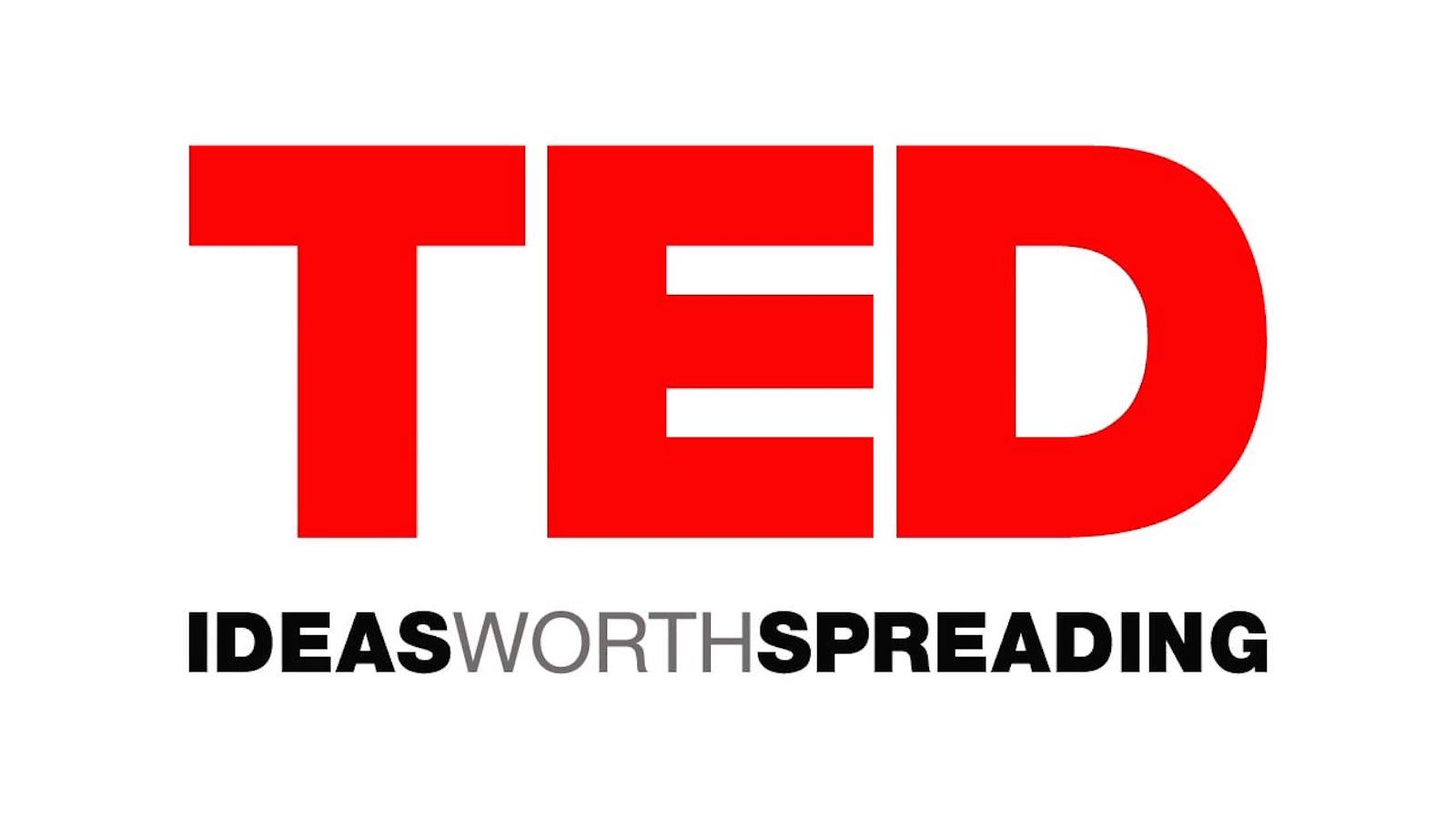 TED Talks logo.