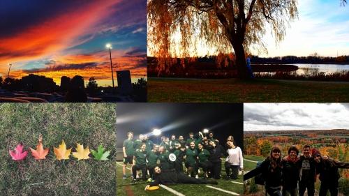 Top five photos in exchange student contest