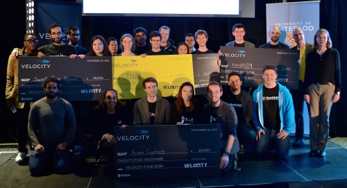 Winners of Pitch competition $25,000