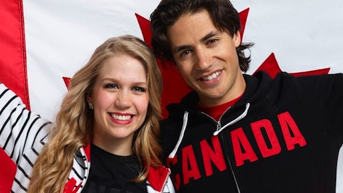 Andrew Poje and Kaitlyn Weaver