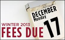 a calendar turned to December 17