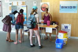 Water booth on UWaterloo campus