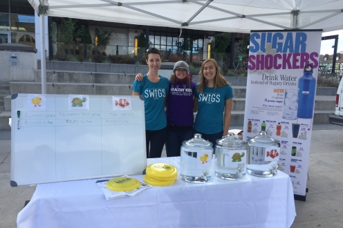 SWIGS executives at Water Bar Event at Waterloo Town Square