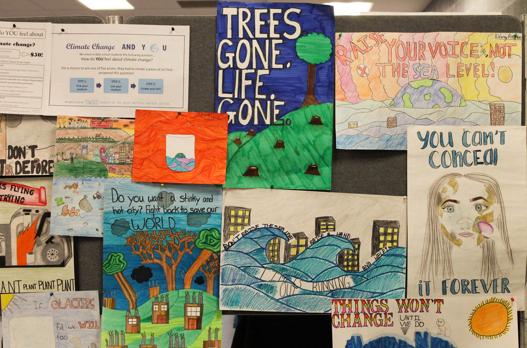 Climate Change and you posters