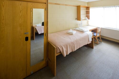 Ron Eydt Village bedroom