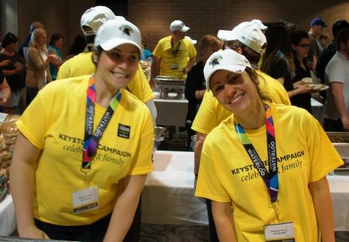 Keystone picnic volunteers