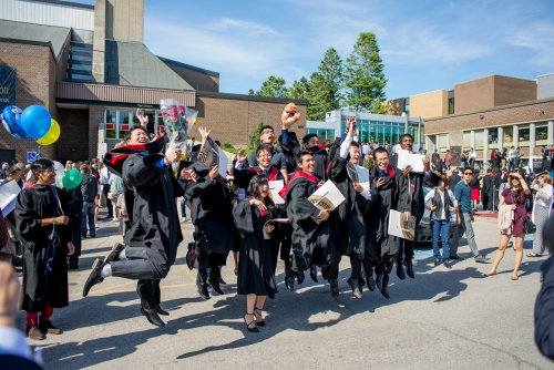 Grads celebrate Convocation