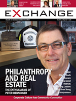 front cover of May 2017 issue of Exchange magazine
