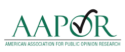 American Association for Public Opinion Research (AAPOR) logo.