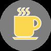 Bike Breakfast Coffee Icon