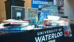 Waste sorting challenge booth