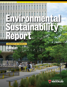 Front page of 2019 Sustainability Report