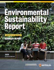 2020 Environmental Sustainability Report front cover image