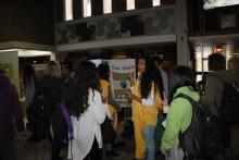 Students discuss fair trade