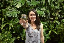 Andrea Bale with her mason jar