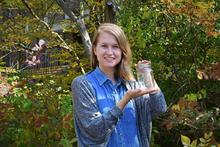 Beth Eden with her mason jar