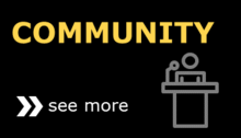 Community icon button